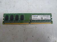CRUCIAL CT12864AA667.M8FJ3 1 GB 240-PIN DIMM 128MX64 DDR2 MEMORY CARD BL111DM.VX