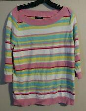 chaps womans size 1x multicolor blouse shirt top dressy