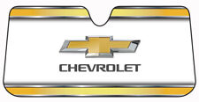 Chevy Folding Reflective Windshield Front Sun Shade Chevrolet Bowtie Elite