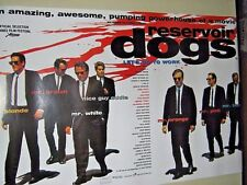 """Reservoir Dogs """"Cast"""" Orig. Import Poster #st 4310 / Exc. New cond. - 24x36"""""""