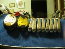 Wilson Staff 1973 Complete Set Woods & Dynapower Forged Irons Reg Steel Shafts