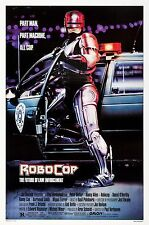 ROBOCOP (1987) ORIGINAL MOVIE POSTER  -  ROLLED