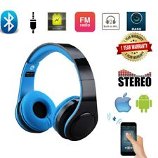 5-in-1 Wireless LED Stereo Bluetooth Kopfhörer Headset TF FM MIC Heavy Bass MP3