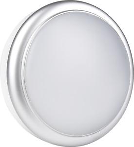 15W LED Silver Wall / Ceiling Outdoor Light IP65 Bulkhead Light Daylight 6500K