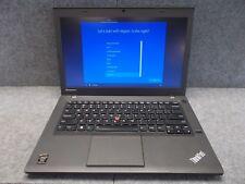 "Lenovo ThinkPad T440s 14"" i5-4300u @ 1.9GHz / 8GB RAM / 500GB HDD Windows 10 Pro"