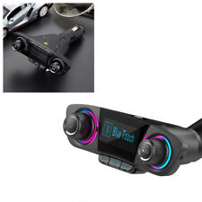 Wireless Car Bluetooth FM Transmitter MP3 Radio Adapter Car Kit USB Charger ABS