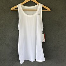 New Balance Womens Small White Accelerate Athletic Running Tank Top NWT