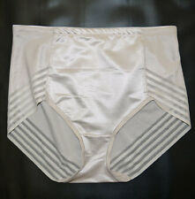 faMouS store FIRM CONTROL no VPL High Leg Knickers Briefs  FAWN sizes 8-18
