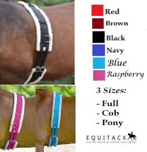 Nylon Roller With Fleece Padding PONY COB FULL - 6 COLOURS *NEXT DAY DELIVERY*