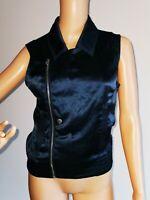 G-STAR Stylisch Damen Weste Jacke SUMMER 100% Seide / Silk  S / 36 38     #LRE94