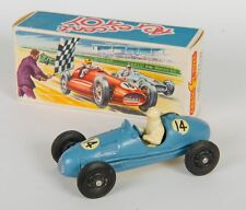 Crescent Toys 1289 Gordini 2.5 Litre Grand Prix Racing Car. Blue. Boxed. 1950's