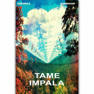 20A612 New Tame Impala Hot 2017 Psychedelic Rock Art Poster Silk Deco