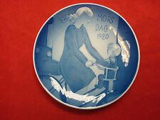 Royal Copenhagen Mors Day Plate 1980