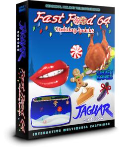 FAST FOOD 64: HOLIDAY SNACKS Atari Jaguar 2018 Game