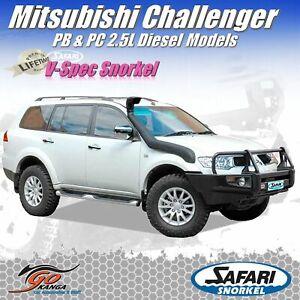 SAFARI 4X4 SS665HF SNORKEL for MITSUBISHI CHALLENGER PB & PC 2.5L T/Diesel 12/09
