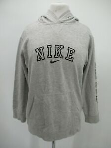 P5520 VTG Boys Nike Spellout Pullover Hoodie Size L (14-16)