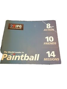 IPG Paintball Experience. Enterance And Free Balls For 10 People