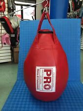 tear drop heavy punching bag Unfilled