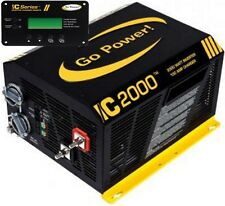 Go Power GP-IC2000-12-PKG Pure Sine Wave Inverter (2000 Watt with 100 amp Charge