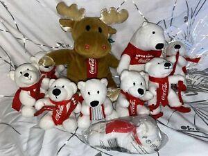 Konvolut COCA COLA Eisbär Renntier Eisbären Sammlung ** RARITÄT **