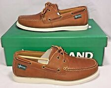 EASTLAND MENS SIZE 8.5 KITTERY 1955 EDITION LEATHER BOAT CASUAL DRESS SHOE NEW