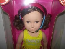 "My life as 18"" Doll  Dance instructor- brown hair/brown eyes"