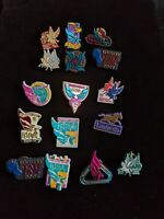 Lot of 15 Kentucky Derby Vintage Pins Festival State Fair