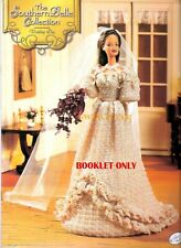 Barbie Crochet Scarlett O'Hara's Dress Wedding to Charles Gone With The Wind