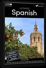 Eurotalk Ultimate Espagnol - 6 Produit Set - USB & Talk Now Tablette