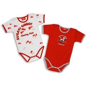 Schlafanzug Body Newborn Original Ducati Jogging 14 IN Baumwolle Hypoallergen 2