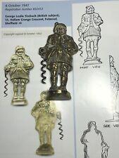 More details for harry lauder corkscrew - 1940's british registered design - free standing drunk