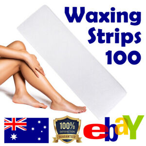 Waxing Strips Non Woven 70gsm Cut Wax Papers Precut Disposable 100 / 50 / 25
