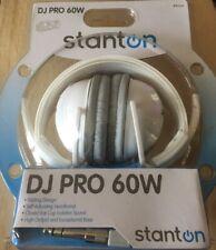 CASQUE DJ Stanton DJ Pro 60w Blanc