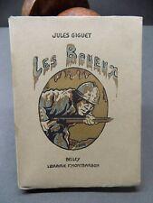 Jules Giguet LES BOUEUX 1921  Numéroté envoi signé Guerre 1914-1918