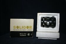 SOLIGOR TELEPHOTO CAMERA LENS - BOXED - Very Good Condition