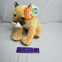 "Wild Republic Mountain Lion Plush Toy 12"" Stuffed Animal Gifts for Kids Superb"