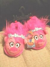 Trolls Slippers DreamWorks Toddler Girls Princess Poppy Size 5-6 Small