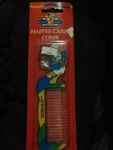 Vintage Donald Duck Comb Mickey's Stuff Plastic Kids Souvenir Disney New