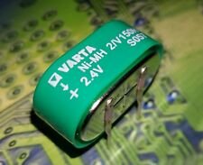 VARTA MEMPAC - 55615602940  2V150H 2.4v NI-MH BACK UP BATTERY PCB Mount 2xV150h