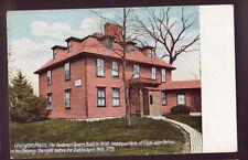 LEXINGTON MASSACHUSETTS MA Buckman Tavern 1910 Postcard PC