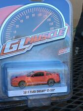 Greenlight MUSCLE  Series 18 2011 Ford Shelby GT-500  race red