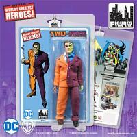 "DC Comics Batman Retro  8""action figure  Series 5 TWO FACE mosc NEW!"