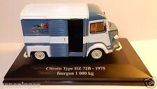 ELIGOR HACHETTE CITROEN TYPE H HY HZ 72B 1975 FOURGON 1000 KG FLEURISTE 1/43 BOX