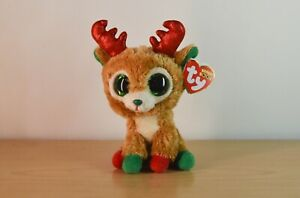 Ty Beanie Boo's Ellie Alpine The Reindeer 2015/  great condition with tags