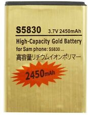 Battery for Samsung Galaxy Ace 1 S5830 Gio S5660 Fit S5670 Gold Replacement