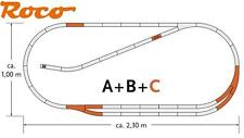 Roco H0 61102 geoLine Gleis-Set C 8 teilig mit 2 Weichen - NEU + OVP