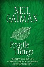 Fragile Things by Neil Gaiman (Paperback, 2007)