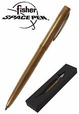 Fisher Space Pen #M4RAW / Raw Brass Cap-O-Matic Ballpoint Pen