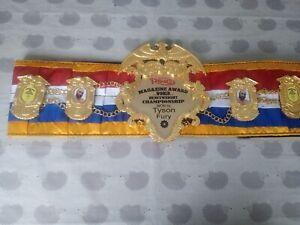 Tyson Fury One Off Ring Magazine Belt