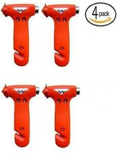 Zone Tech 4x Seatbelt Cutter Window Breaker Escape Tool Emergency Saving Hammer